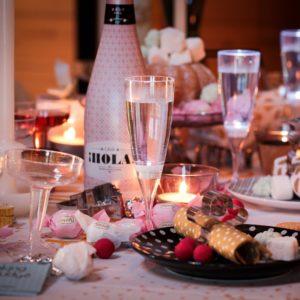 Champagne Led Light Glasses