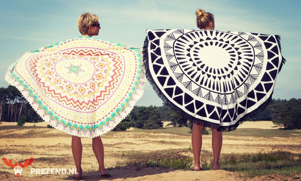 """Roundie"" beach towel"