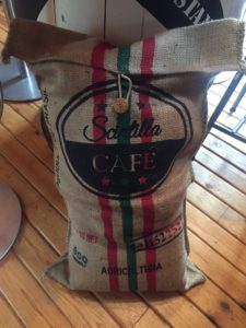 Eco Friendly coffee beanbags