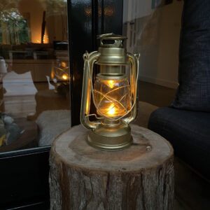 Stormlamp Goud